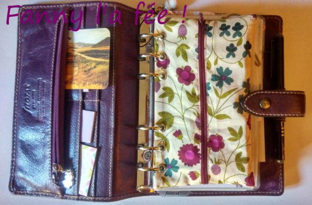 Trousse planner personal liberty installée
