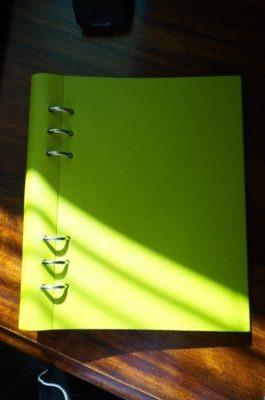 Filofax clipbook recettes