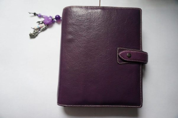 filofax malden purple A5