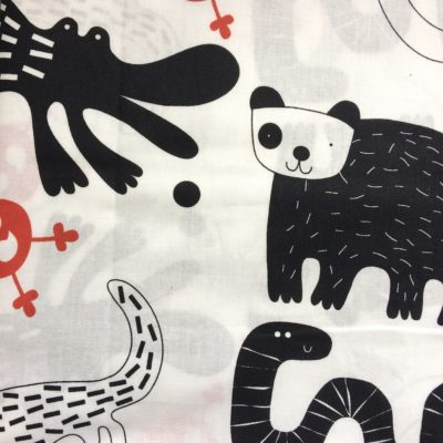 tissu pour sac animaux