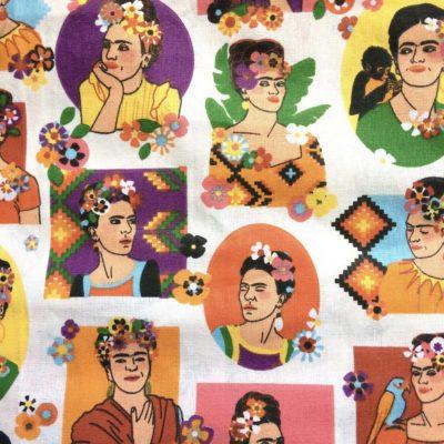 tissu pour sac frida kahlo