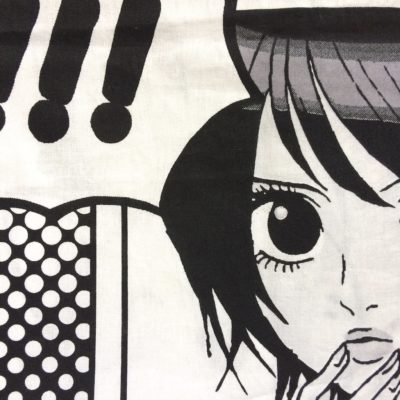 tissu pour sac manga