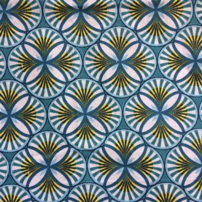 tissu pour sac palmiers canard