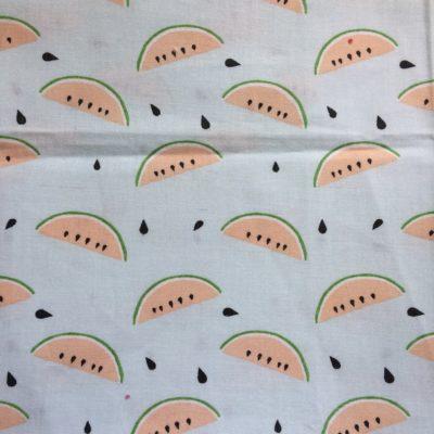 tissu pour sac pastèques