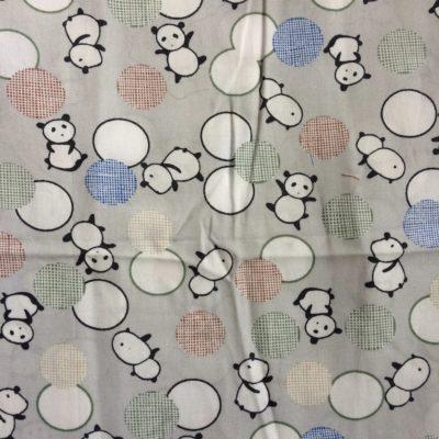 tissu pour sac petit pan pandas