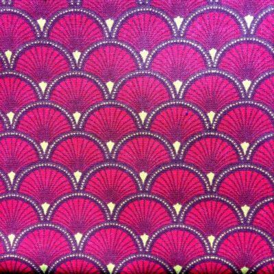 tissu pour sac segaiha rubis