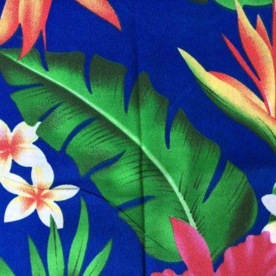 tissu sac fleurs îles
