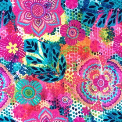 tissu sac fleurs mulitco