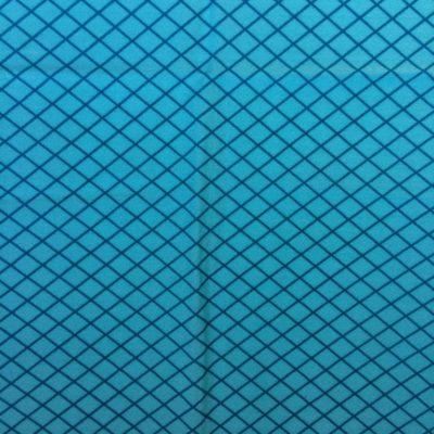 tissu sac losanges turquoise