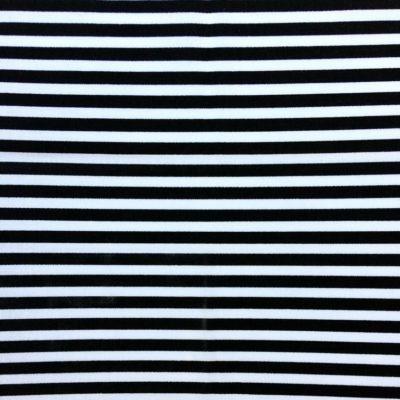 tissu sac rayures noir et blanc